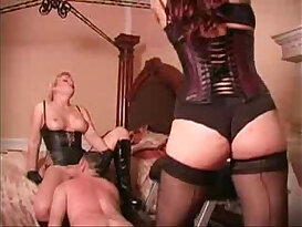 Whipped while licking mistress pussy Femdom Tube