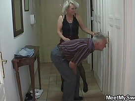 She gets into threesome by his parents