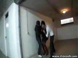 Slutty Milf abused and Fucked by Robbers