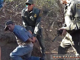 Hot police woman xxx Mexican border patrol agent has his own ways to