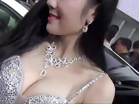 Video Chinese car show girl iwasex.