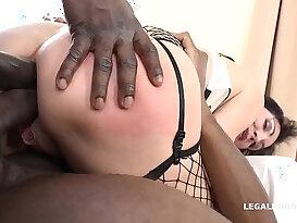 Italian Milf Sissy Neri Takes all the Big Black monster mamba Cock she can handle.