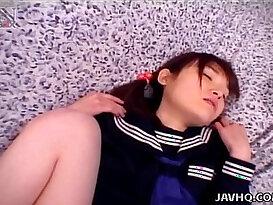 Horny Manami Yuki nailed by cock