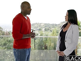 BLACKED Hot Babe Roxy Raye Gets Butt Stretched By BBC