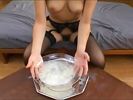 Swallowing gallons of stale semen