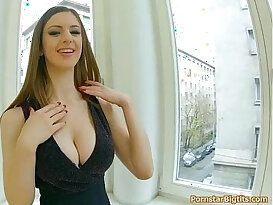 Lots of tit pounding, lovely dirty talk, finished with gigantic boob cumblast