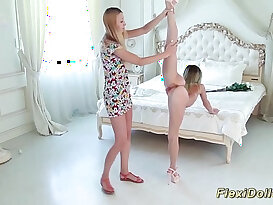 skinny real flexi doll stretched