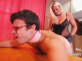 Paris Knight Paris Trains Her Husband Full Strapon