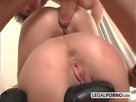 Ass to mouth with hot titjob NL