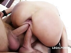 Double Addicted Angie Moon Dominica Phoenix with anal Orgasms!