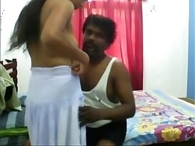 Sexy Aunty and uncle at home