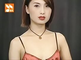 Taiwan Girl seduced with naughty Sexy Lingerie Show