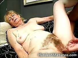 Real old granny fucked