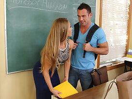 World\'s hottest teacher